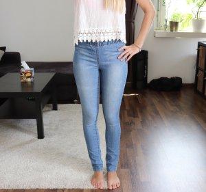 High Waist Skinny Röhren Jeans Jeggins Gr. 34