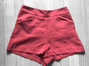 High waist Stoff Shorts Mango