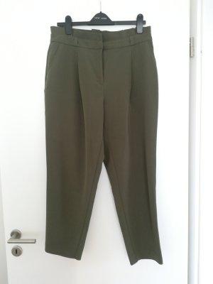 New Look Pantalon taille haute kaki
