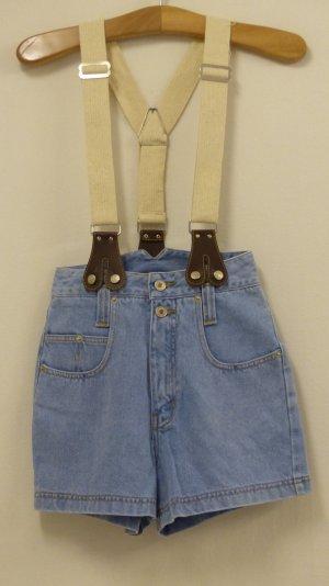 High-Waist-Shorts multicolored cotton