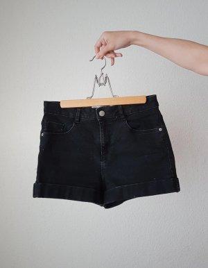 Zara High-Waist-Shorts black