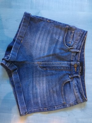 High waisted Jeans Short