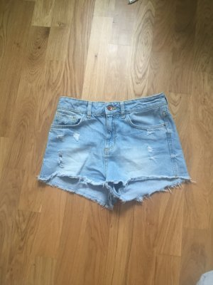 High Waisted Jeansshorts ZARA