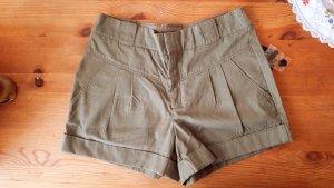 High-Waisted Safari Shorts