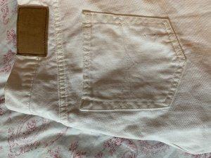 Polo Jeans Co. Ralph Lauren Pantalon taille haute blanc