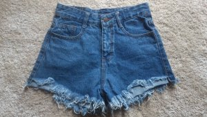 High Waisted Shorts /Jeans /destroyed /fransen