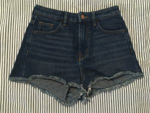 high waste jeans shorts