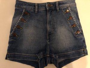 High-Wasted Hotpants Größe 34