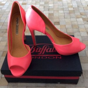 Higheels/ Peeptoes/Pumps von Buffallo in Pink Gr. 40