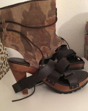 Alba Moda Sandaletto con tacco alto multicolore