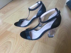 Next High Heel Sandal black leather