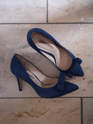 Highheels dunkelblau von Buffalo London