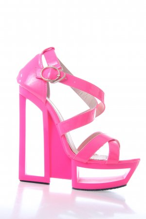 Highheels in Neonpink