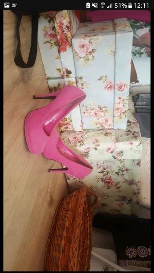 highheels in pink