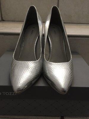 HighHeels In Silber von Marco Tozzi
