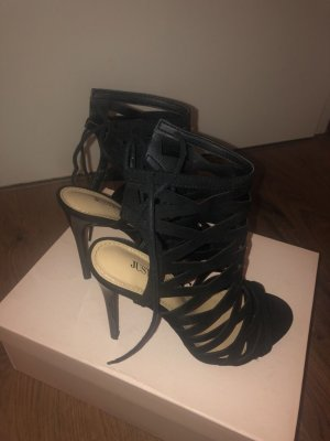 Just Fab Strapped pumps black