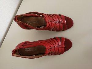 5th Avenue High Heel Sandal red