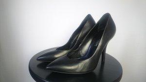 Highheels von Riccardo Cartillone Vero Cuoio Gr. 36 schwarz Leder