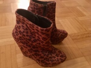 Highlight!! Keil-Stiefeletten im Leolook in Gr. 38 von Material Girl