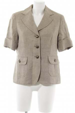 Highmoore Knitted Blazer gold-colored-sand brown Metal buttons