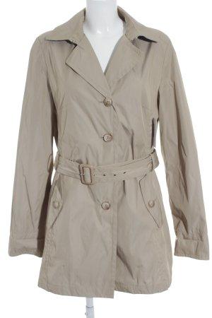 Highmoore Trenchcoat beige-lichtblauw klassieke stijl
