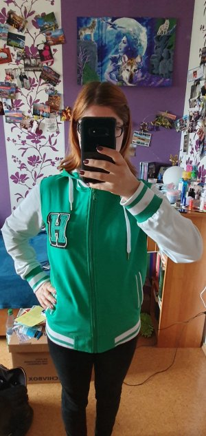 College Jacket green