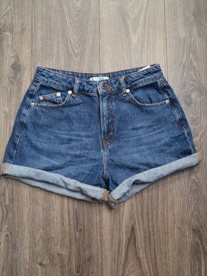 Pull & Bear Short taille haute multicolore