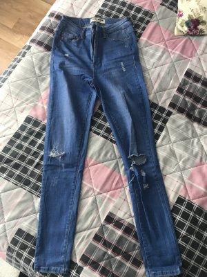 Highwaist Destroyed Jeans