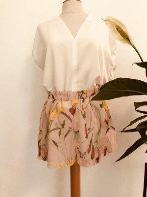 H&M Conscious Collection Pantalon taille haute multicolore