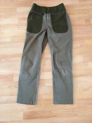 Max & Co. Hoge taille broek khaki
