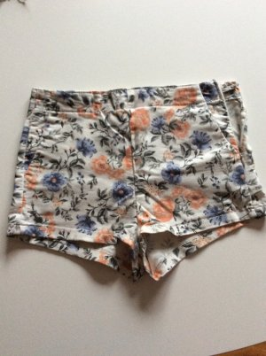 Highwaist Hot Pants Blumenprint Größe 34 Divided H&M