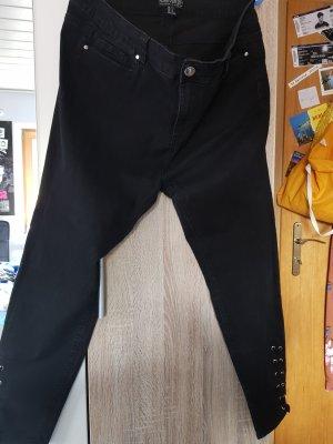 Forever 21 Hoge taille jeans zwart