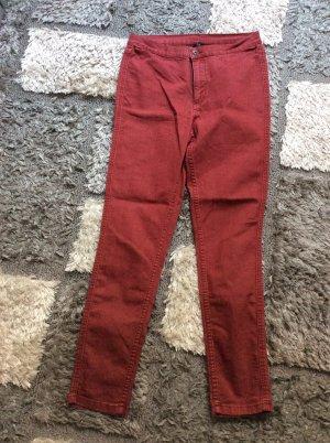 Rainbow High Waist Jeans purple mixture fibre