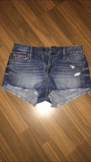 Highwaist Jeans Hot Pants Hollister Gr. 3 (W26)