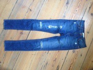 Highwaist Jeans im Used Look von Mango