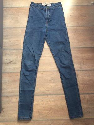 Denim Co. Jeans a vita alta blu