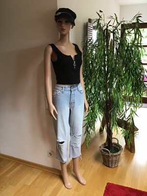 H&M High Waist Jeans light blue