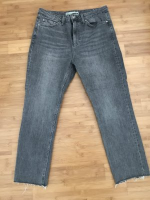 Topshop Jeans a 7/8 grigio