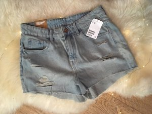 Highwaist Jeansshort
