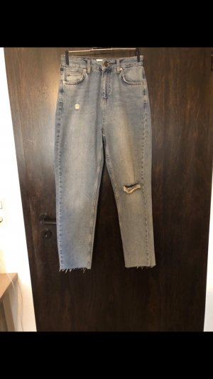 Urban Outfitters Hoge taille jeans blauw-lichtblauw