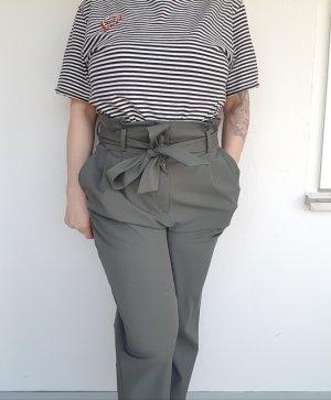 H&M High Waist Trousers khaki