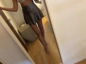 Highwaist Rock Silber