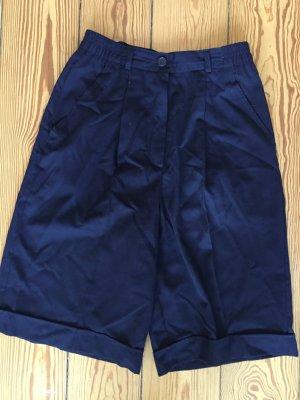 Highwaist-Shorts, Taillen-Hose, blau, Vintage, Größe 36/38