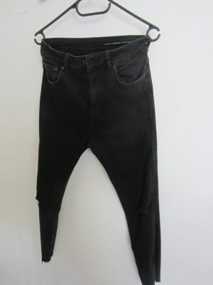 Highwaist skinny Jeans in schwarz