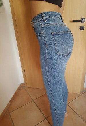 DRDENIM JEANSMAKERS Hoge taille jeans blauw