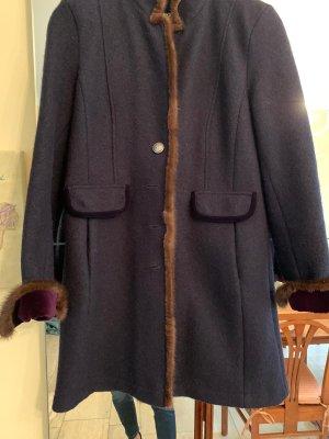Manufaktur Hildebrandt Frock Coat dark grey-cognac-coloured