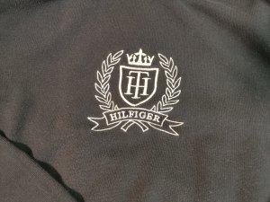 Hilfiger Baumwolle Pulli mit Logo in schwarz