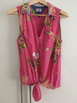 Hilfiger Bluse Größe M Pink Sommer