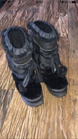 Hilfiger Bottes de neige noir