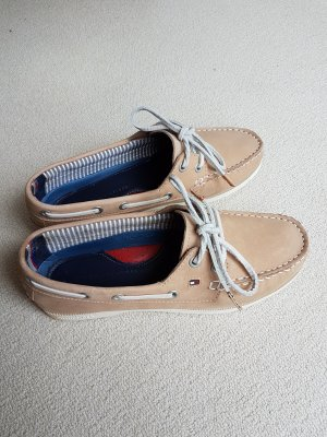 Hilfiger Slippers light brown-natural white